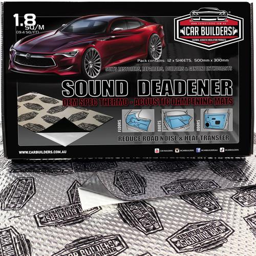 Car Builders Stage 1 Silver Label - Car Audio Acoustic Sound Deadening.