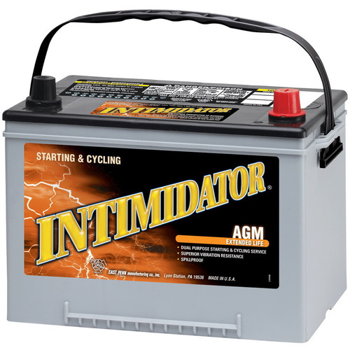 Intimidator 9A34R - Deep Cycle Car Battery.