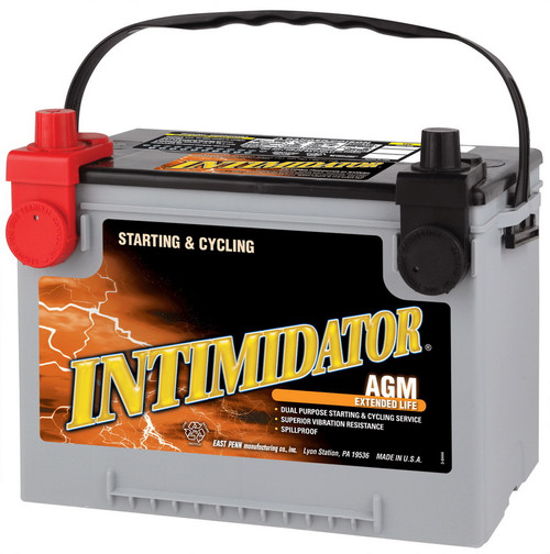 Intimidator 9A78DT - Deep Cycle Car Battery.