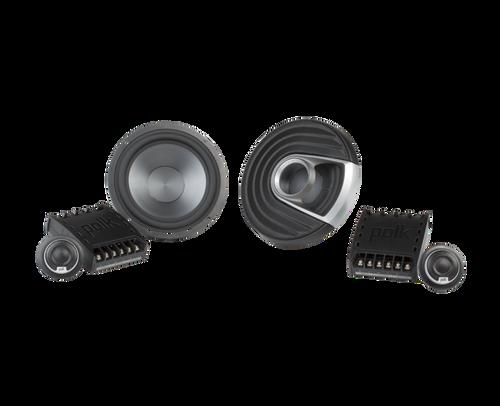 "Polk Audio MM6502 - Two way 6.5"" Car Audio Component Speaker Set."
