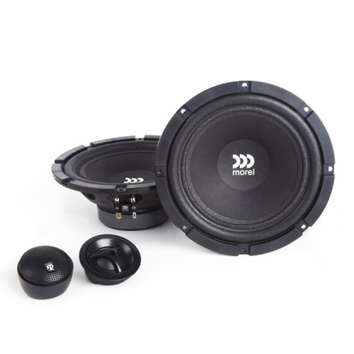 """Morel Maximo 6 MKII - Two way 6.5"""" Car Audio Component Speaker Set."""