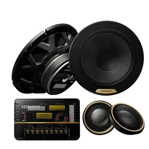 "Kenwood KFC-XH170C - Two way 6.5"" Car Audio Component Speaker Set."