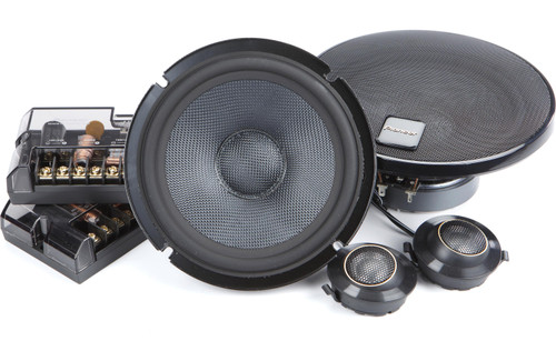 "Pioneer TS-Z65CH - Two way 6.5"" Car Audio Component Speaker Set."