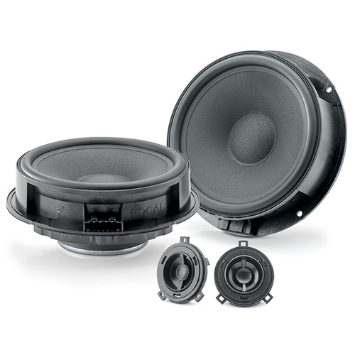 "Focal ISVW165 - Two way 6.5"" Car Audio Component Speaker Set."