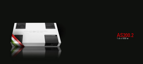Mosconi AS200.2 - Two Channel Car Audio Amplifier.