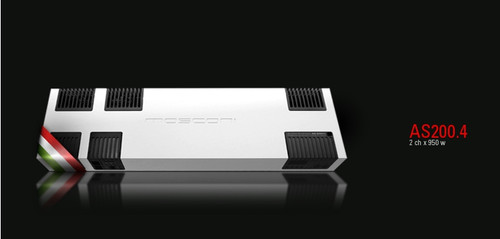 Mosconi AS200.4 - Four Channel Car Audio Amplifier.
