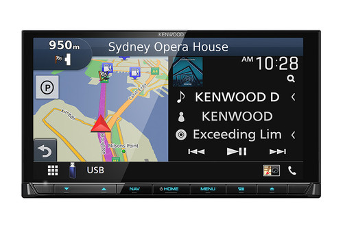 "Kenwood DNX9190DABS - 7"" Car Audio Receiver / Tuner / Navigator."