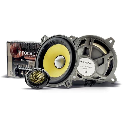 "Focal K2 Power ES100K - Two way 4"" Car Audio Component Speaker Set."