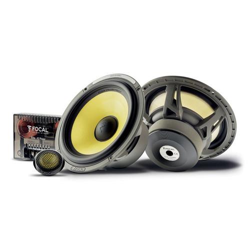"Focal K2 Power ES165K - Two way 6.5"" Car Audio Component Speaker Set."