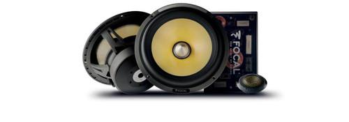 "Focal K2 Power ES165K2 - Two way 6.5"" Car Audio Component Speaker Set."