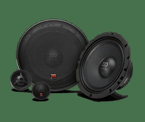 "Morel Maximus 602 V2 - Two way 6.5"" Car Audio Component Speaker Set."