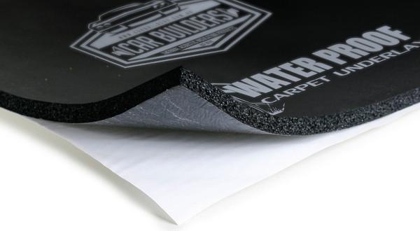 Car Builders Water Proof Carpet Underlay - Car Audio Acoustic Sound Deadening.