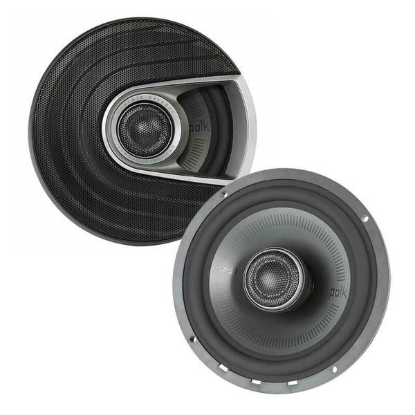 "Polk Audio MM652 - Two way 6.5"" Car Audio Coaxial Speaker Set."