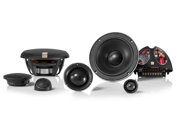 "Morel Hybrid 63 - Three way 6.5"" Car Audio Component Speaker Set."