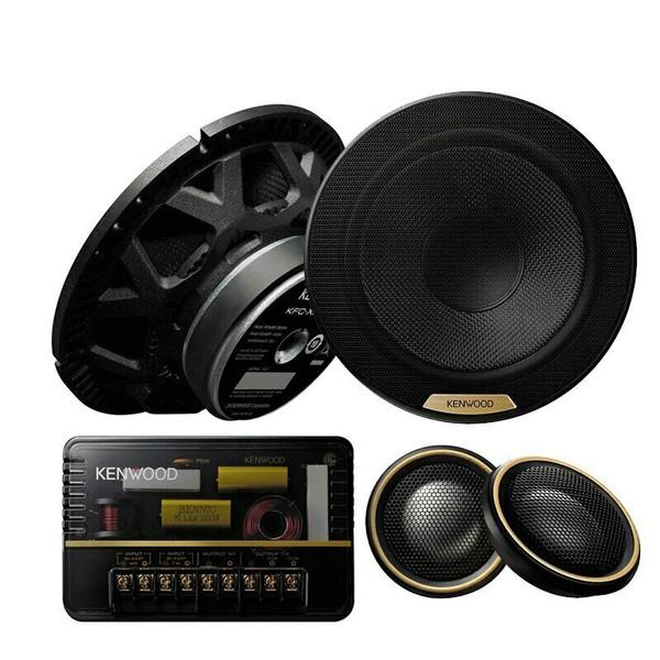 "Kenwood KFC-XH170C - Two way 6.5"" Car Audio Component Speaker Set."