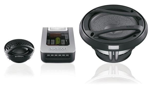 """Audison Voce AV K6 - Two way 6.5"""" Car Audio Component Speaker Set."""