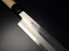 "ARITSUGU Blue Steel Yanagi Kitchen Chef Japanese Knife Betsuuchi Saya 360mm 14.17"" AT007bs"
