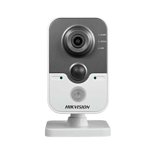 3 MEGAPIXEL CUBE IP CAMERA HIKVISION DS-2CD2432F-IW F2.8, MicroSD, PoE, WiFi
