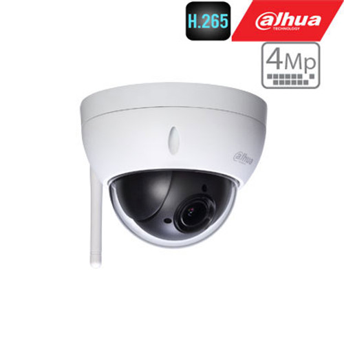 Mini 4 Megapixel HD Network PTZ Dome Camera, x4 zoom WIFI