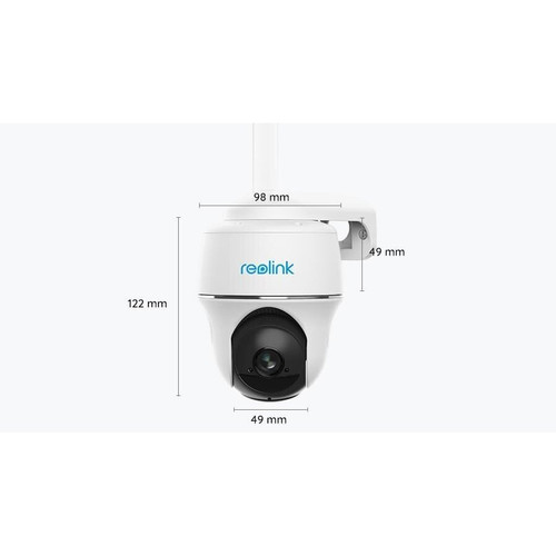 Reolink PTZ Camera Reolink Go PT with Solar Panel, (355°), H264, Micro SD slot