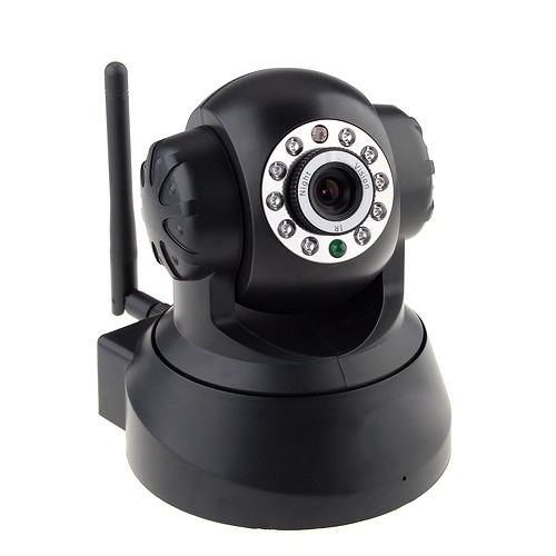 TENVIS 3815V P2P, MINI IP CAMERA WITH WIFI, IR UP TO 10 METERS, BALCK
