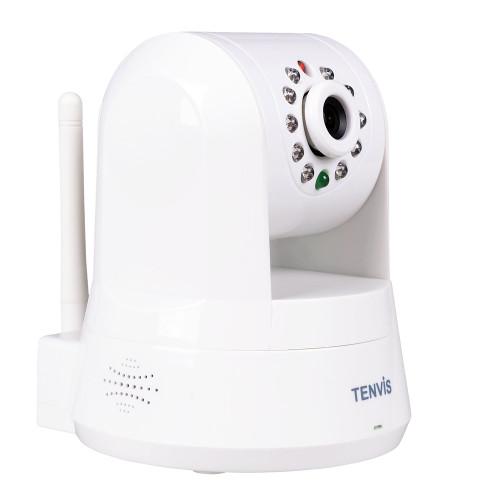 TENVIS ROBOT P2P, MINI IP CAMERA WITH WIFI, IR UP TO 10 METERS, WHITE