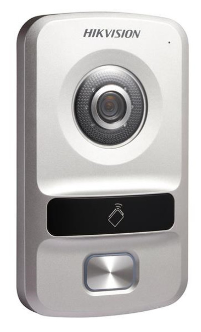 IP Video intercom door station camera Hikvision DS-KV8102-IP, one access number, 1.3 megapixel, night vision, alarm, RFID