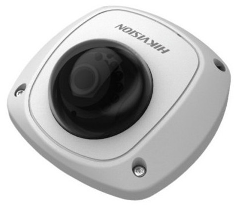 2 MEGAPIXEL MINI DOME IP CAMERA HIKVISION DS-2CD2520F F4, POE, MICROSD