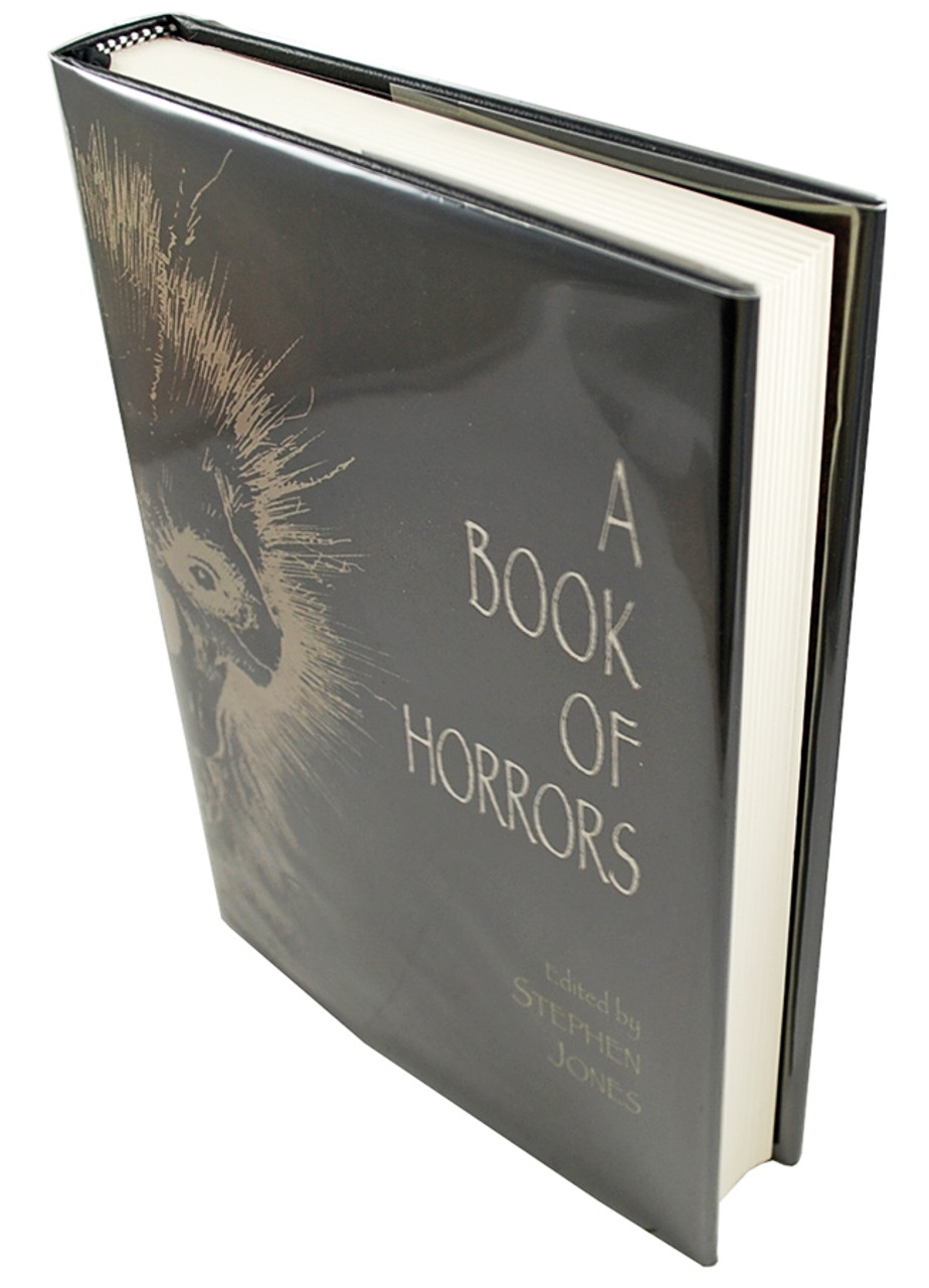 """Cemetery Dance 2012 """"A BOOK OF HORRORS"""" Signed Limited Edition No. 10 of only 83 w/Artist Remarque"""