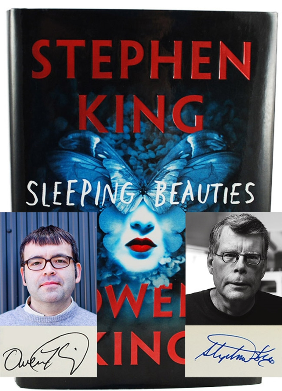 """Stephen King, Owen King """"Sleeping Beauties"""" Signed First Edition"""