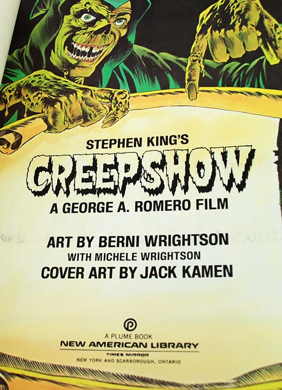 """Stephen King """"Creepshow"""" Comic, First Edition - First Printing (Scarce in this Near Fine condition)"""