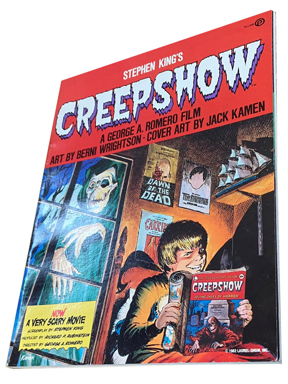 """Stephen King """"Creepshow"""" Softcover Illustrated Comic, First Edition - First Printing"""