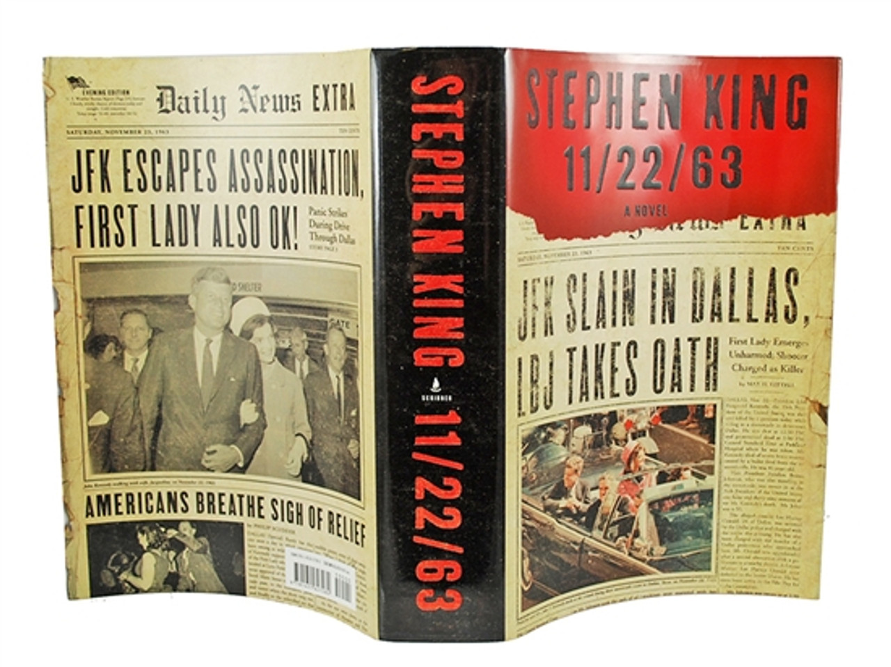 """Scribner """"11/22/63"""" Stephen King, Signed First Edition, First Printing, dj/HC in Slipcase (Very Fine/Very Fine)"""