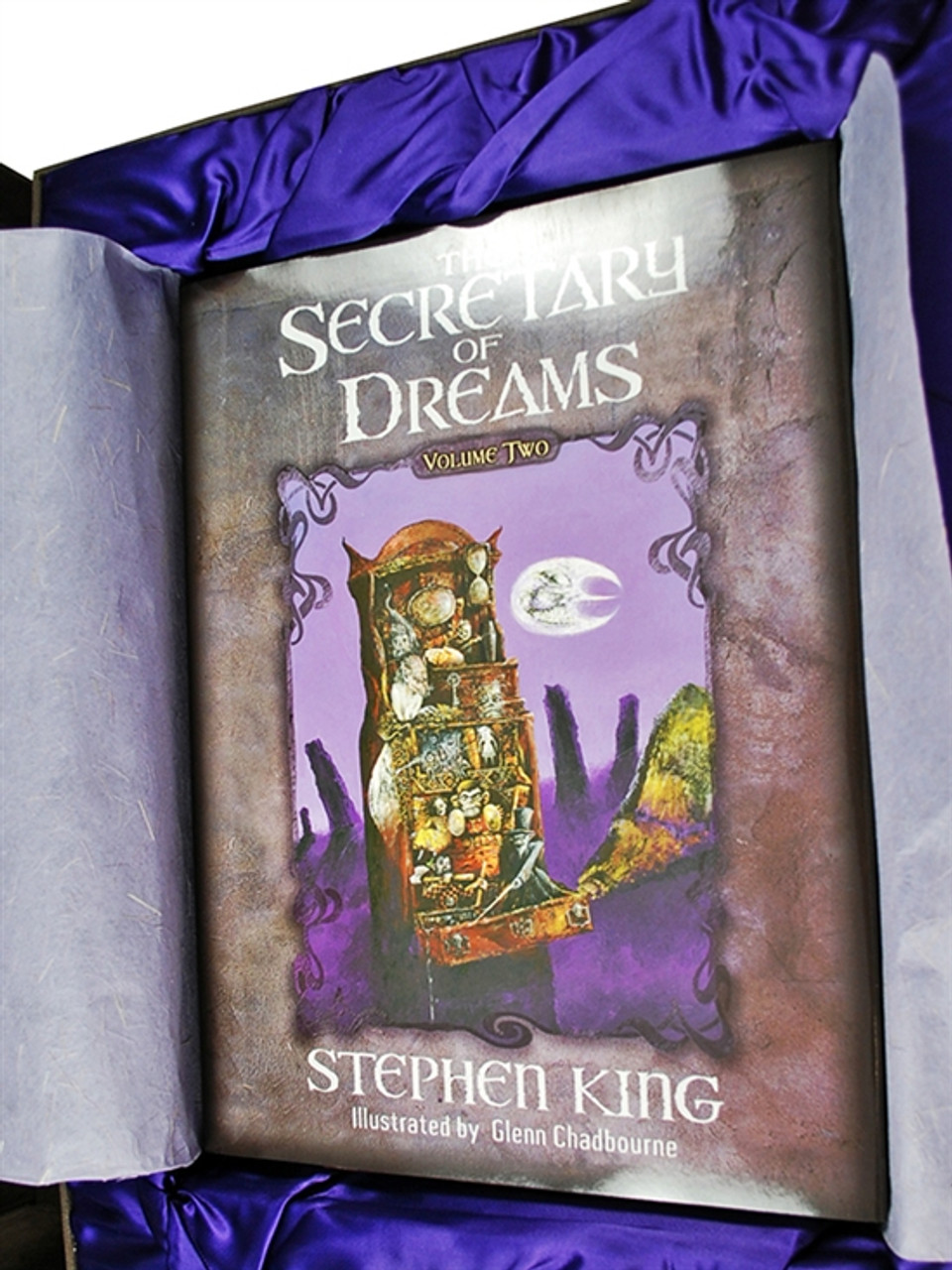 """Stephen King """"Secretary of Dreams"""" Vol. 2, Signed Lettered Edition of only 52 copies in Deluxe Traycase [Very Fine]"""