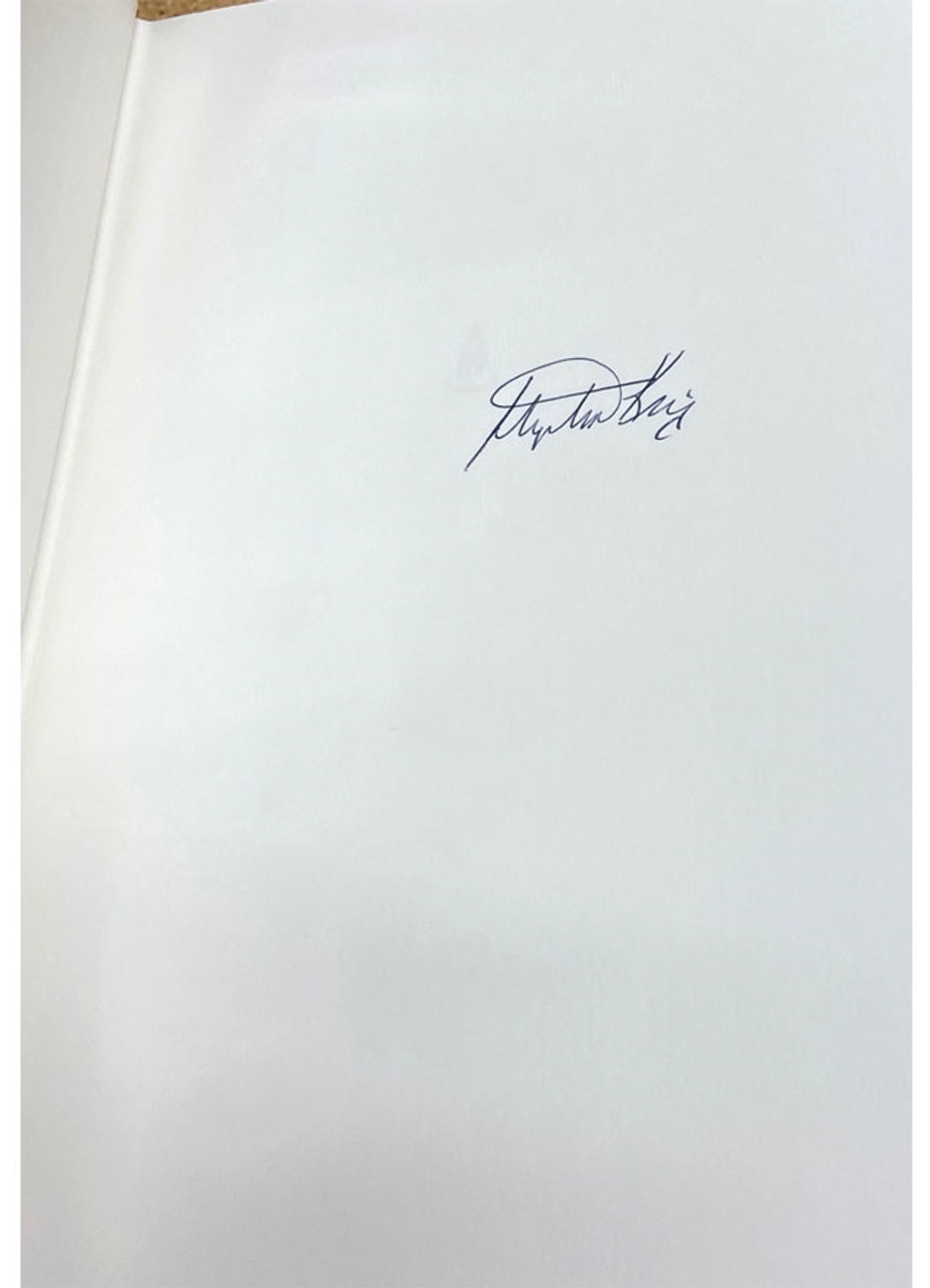 """Stephen King """"Lisey's Story"""" Signed First Edition, First Printing"""