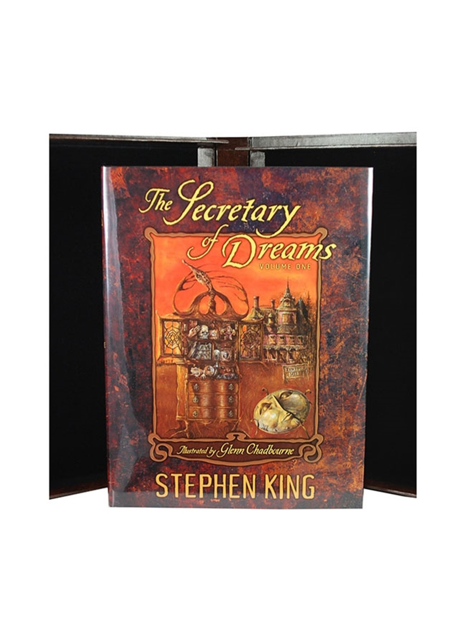 """Stephen King """"The Secretary of Dreams"""" Signed First Limited Edition, Matching Numbered Set. #74/750"""