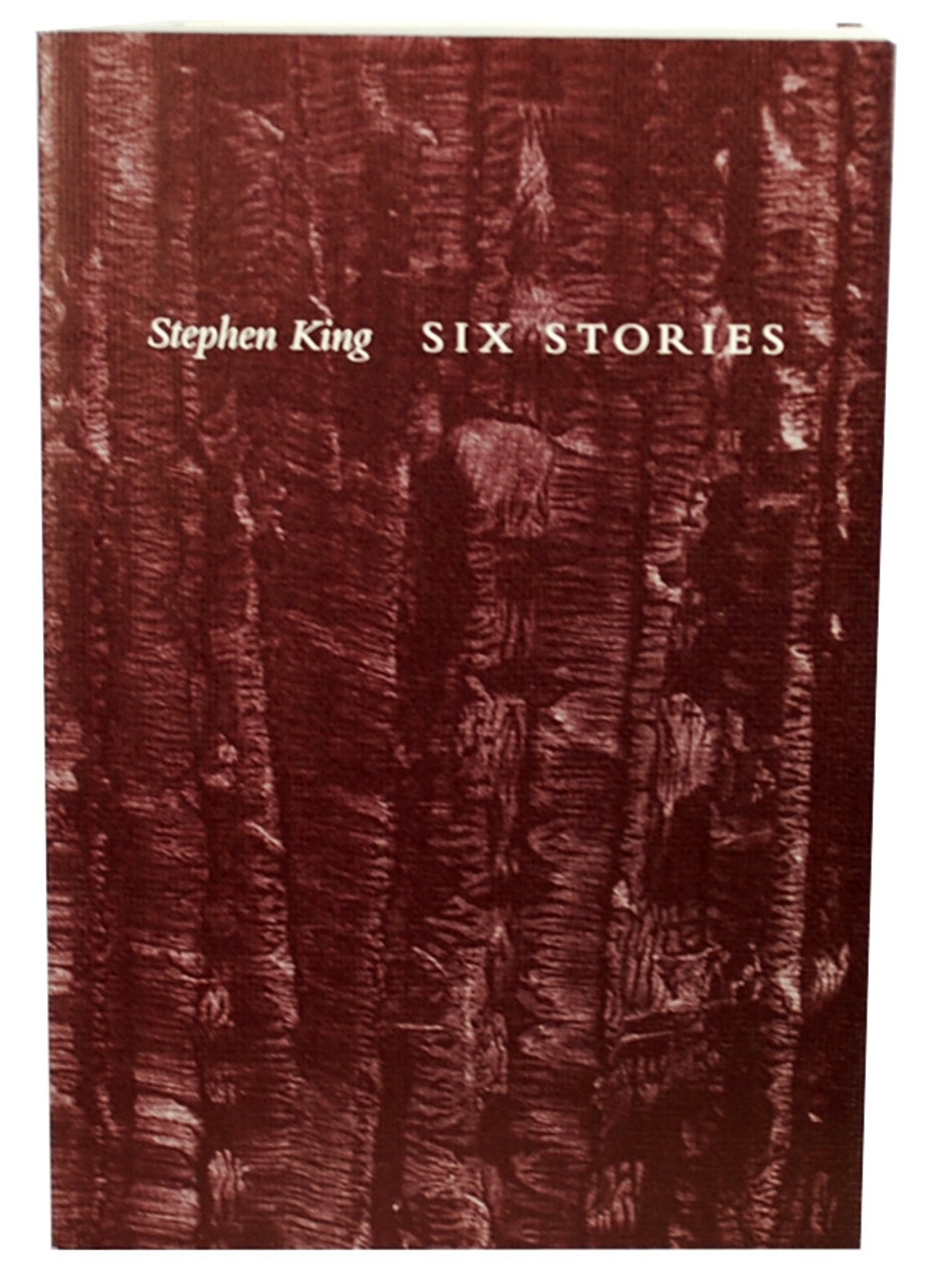 Stephen King Six Stories Signed Limited Edition #7 of only 1,100