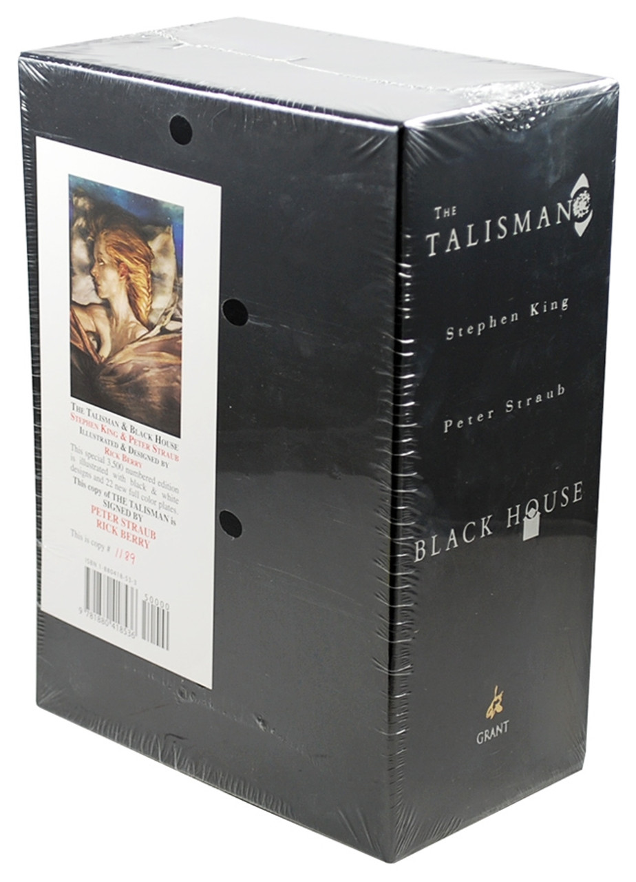 Stephen King Black House Signed Limited Edition