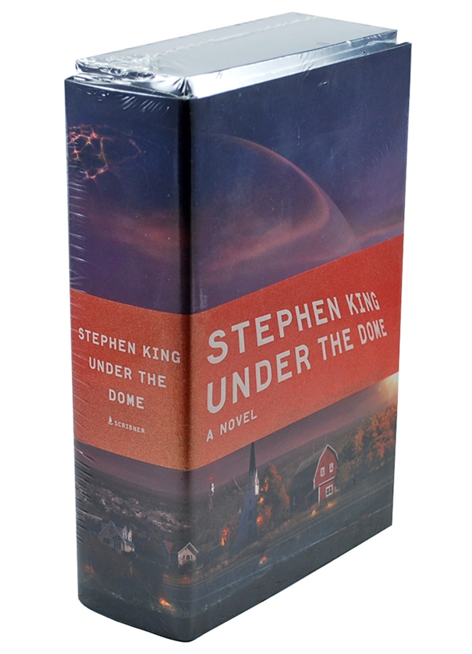 """Stephen King, """"Under the Dome"""" Signed Limited Edition, w/Playing Cards - Sealed"""