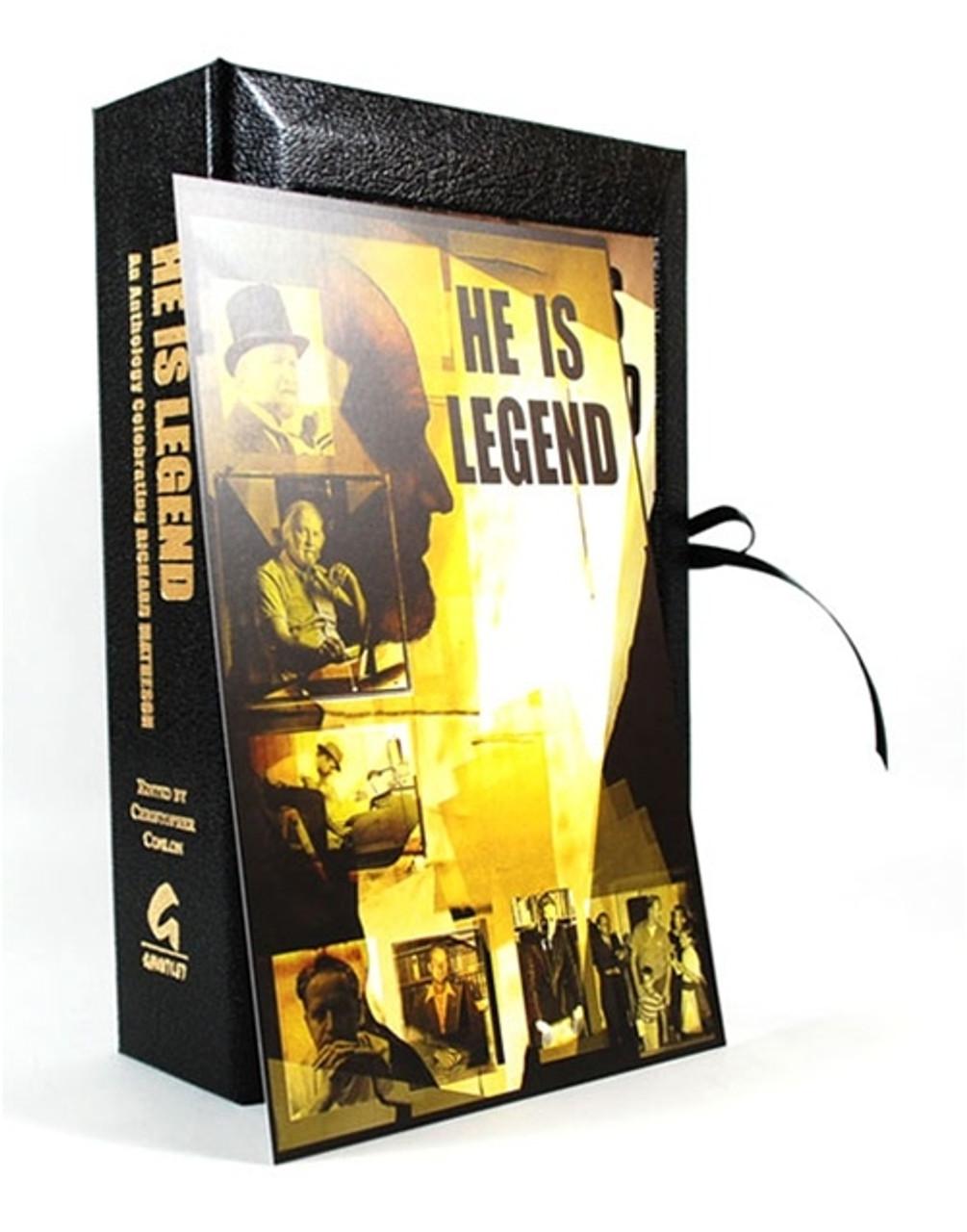 """He Is Legend"" Signed Limited Anthology, Stephen King, Joe Hill, and others Celebrating Richard Matheson"