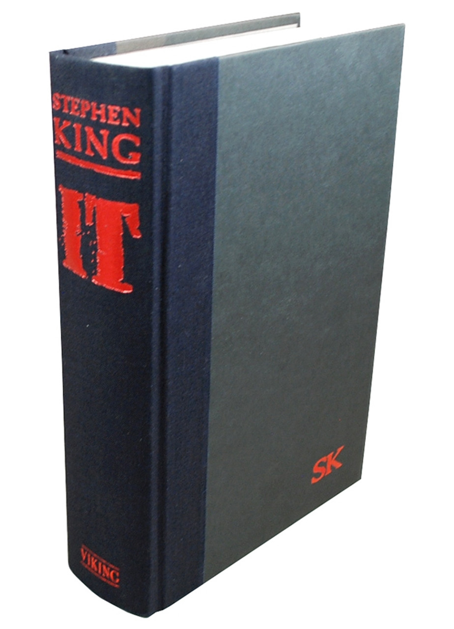 "Stephen King ""It"" dj/HC US First Edition"