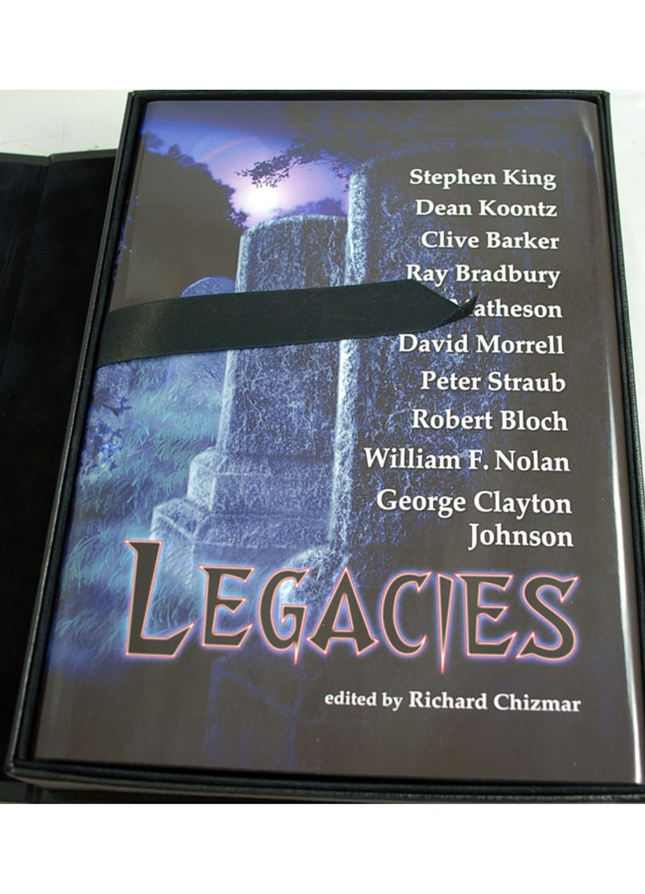 """Cemetery Dance """"Legacies"""" Signed Lettered Edition """"J"""" of only 52 w/Tray-case [As New]"""