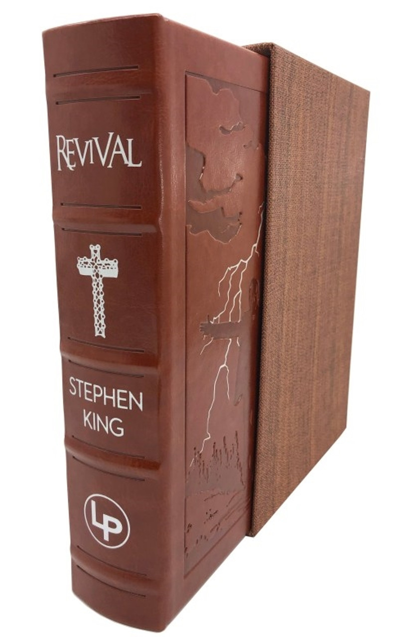 "Stephen King ""REVIVAL"" Signed Limited Deluxe Edition, Slipcsased, Remarqued"