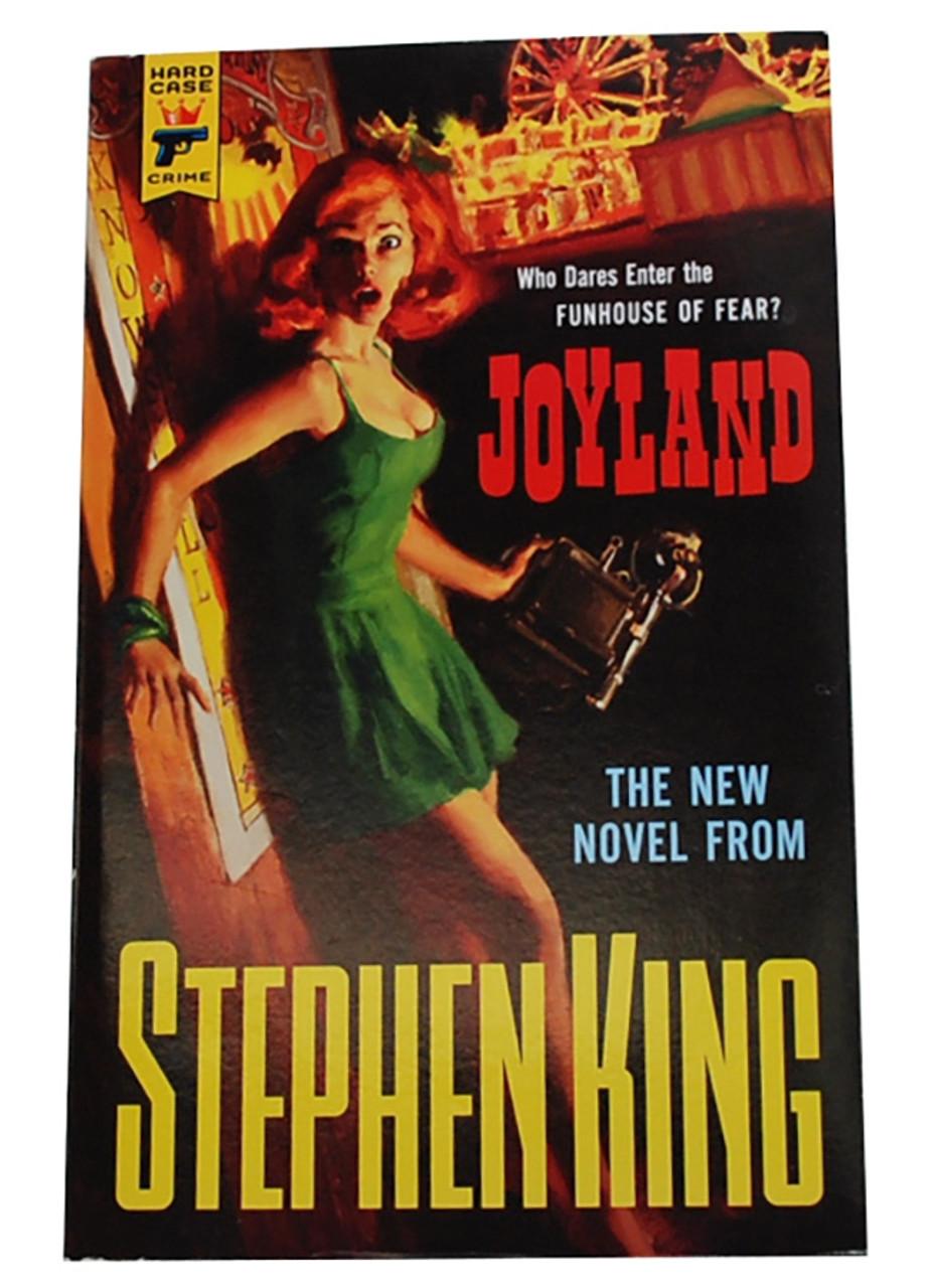 "Stephen King ""Joyland"" Softcover Signed First Edition, Slipcased w/COA [Fine/Fine]"