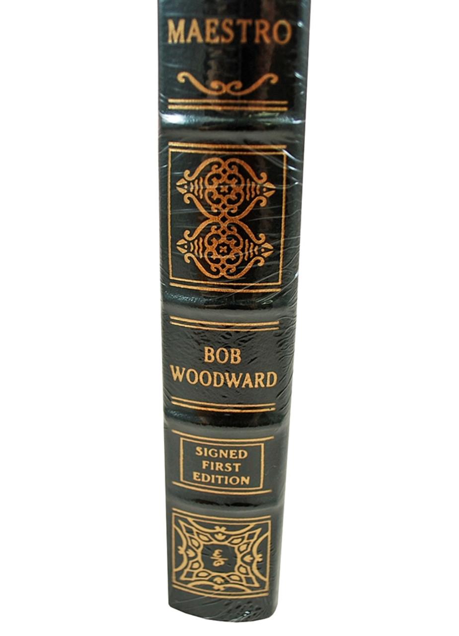 "Easton Press ""Maestro"" Bob Woodward Signed First Edition w/COA [Sealed]"