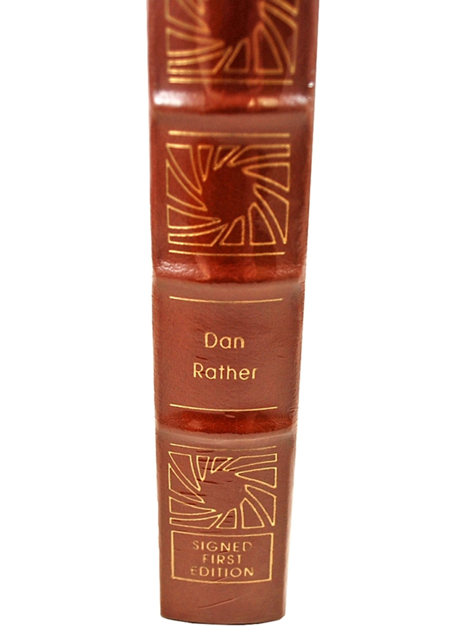 """Easton Press """"The Camera Never Blinks Twice"""" Dan Rather Signed First Edition w/COA [Sealed]"""
