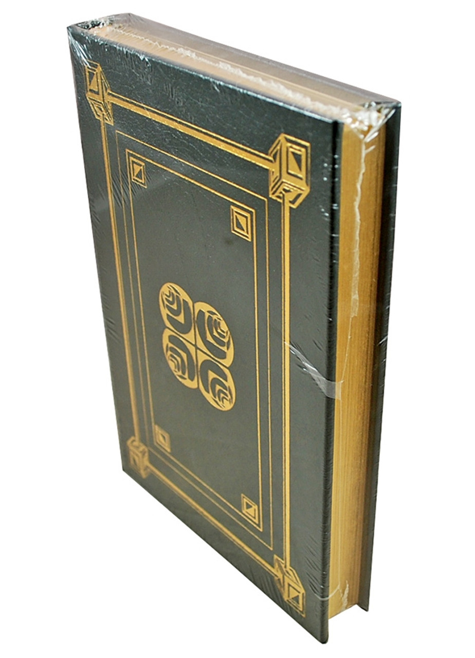 """Easton Press, James Lovell and Jeff Kluger """"LOST MOON: The Perilous Voyage of Apollo 13"""" Signed First Edition  (Very Fine)"""