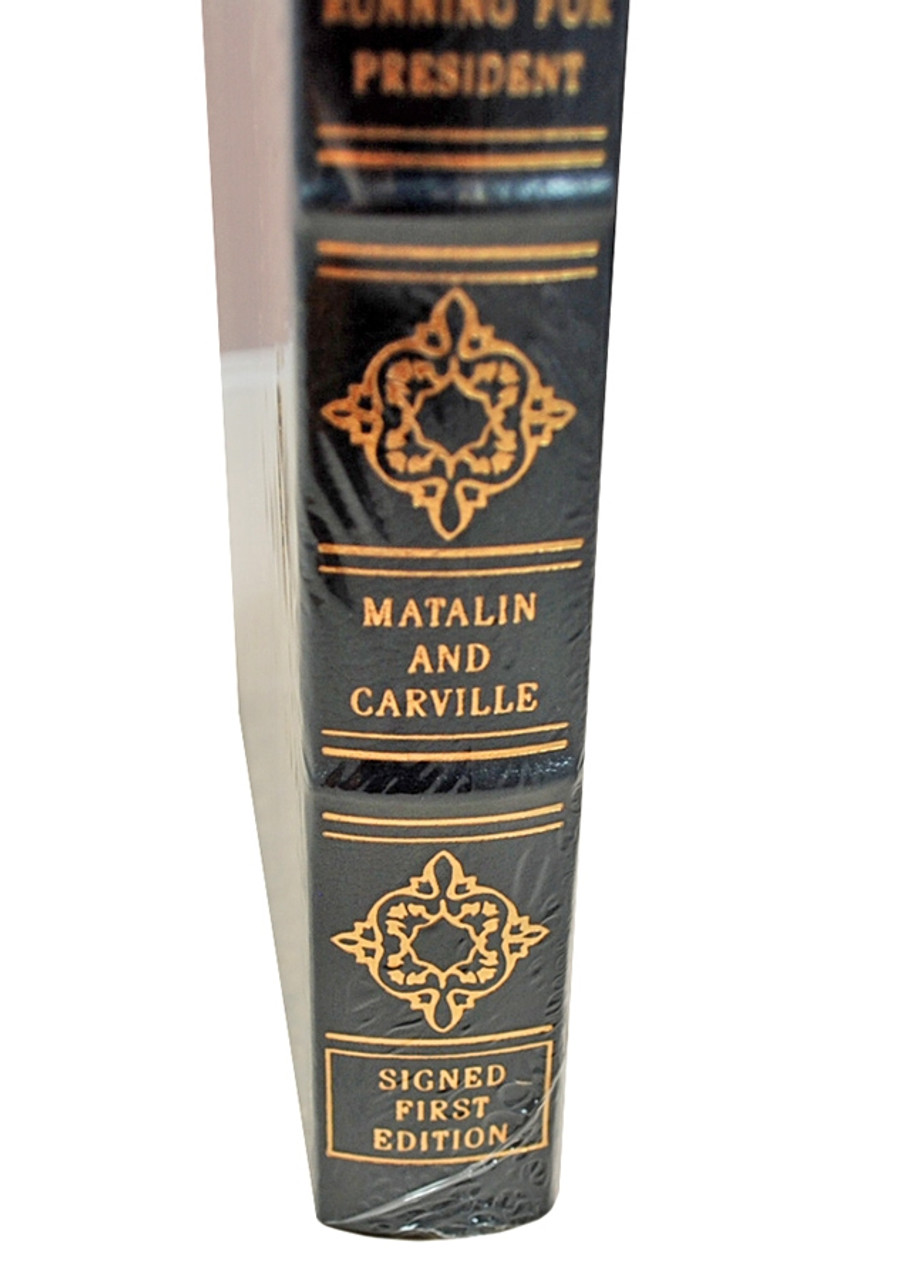 """Easton Press """"All's Fair: Love, War, and Running for President"""" Mary Matalin and James Carville Signed First Edition w/COA [Sealed]"""