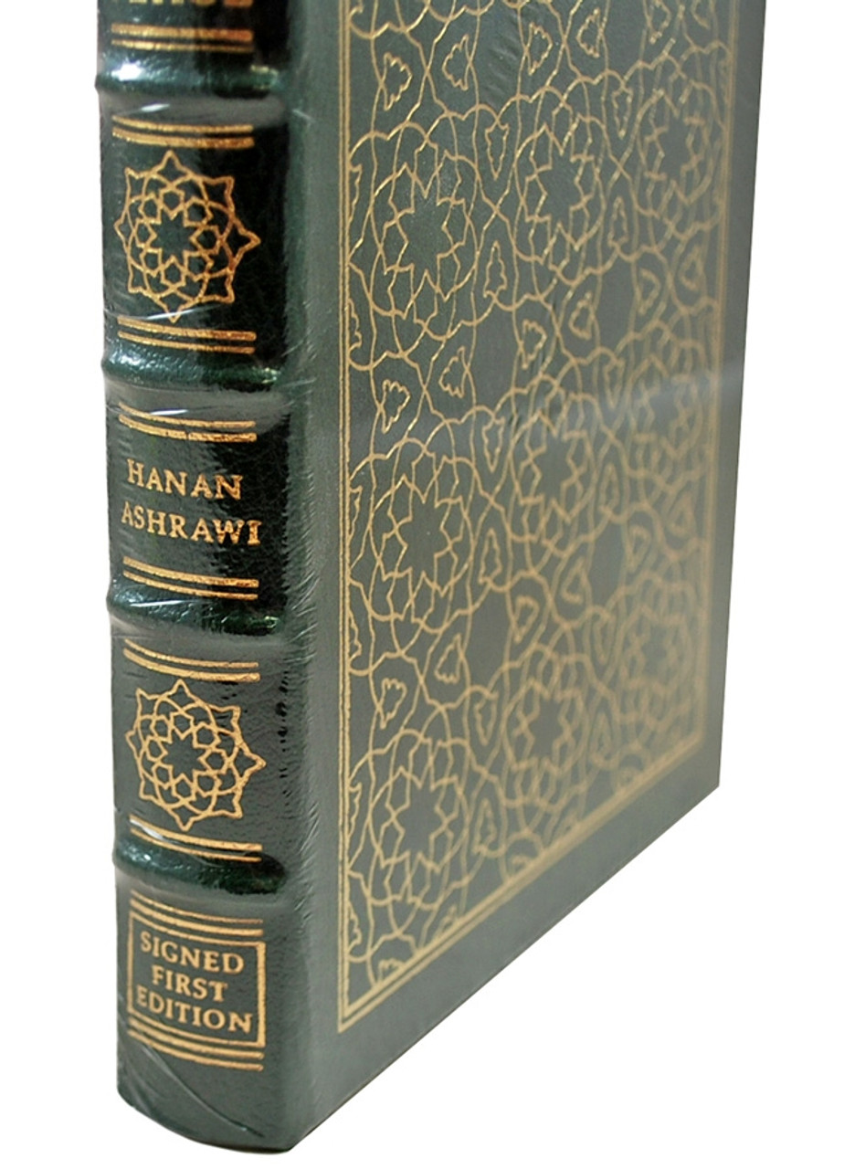 Easton Press Hanan Ashrawi This Side of Peace Signed First Edition Leather Bound Book