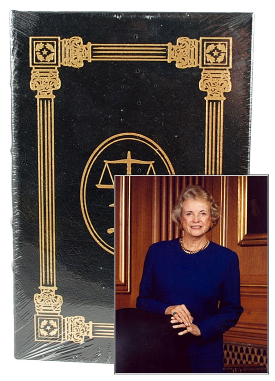 """Easton Press, Sandra Day O'Connor """"The Majesty Of The Law"""" Signed First Edition w/COA [Sealed]"""
